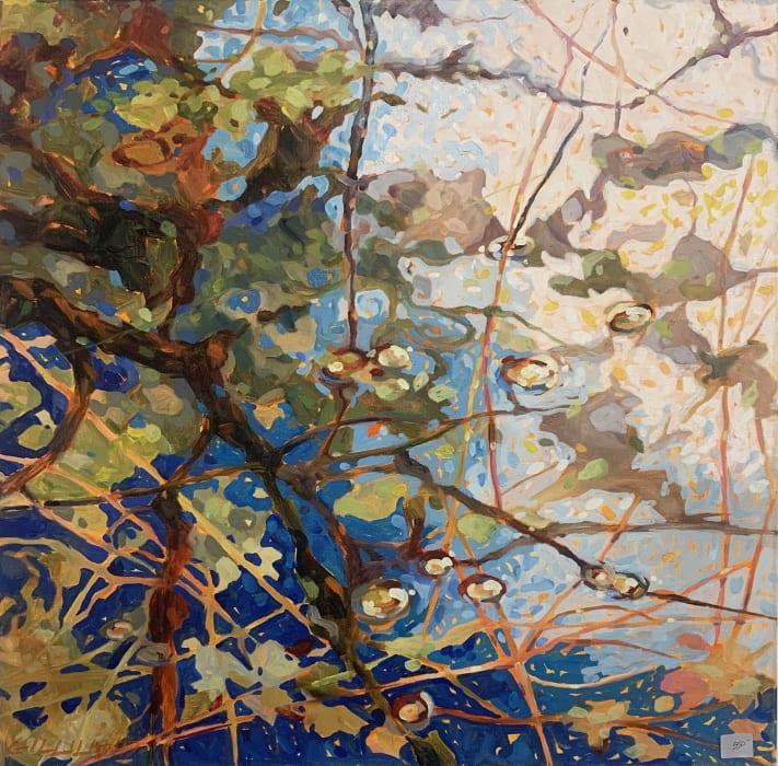 Pamela Gilliland, Water Reflection 14