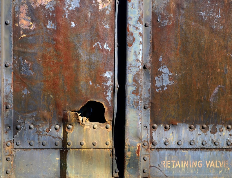 John Tellaisha, Retaining Valve - Train Car, 2006