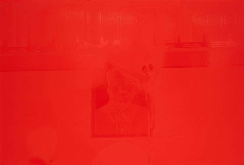 Hank Willis Thomas, Forbidden City (Red on Red), 2018