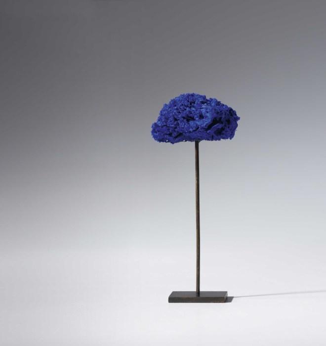 Yves Klein, Untitled Blue Sponge Sculpture (SE 322), c. 1961