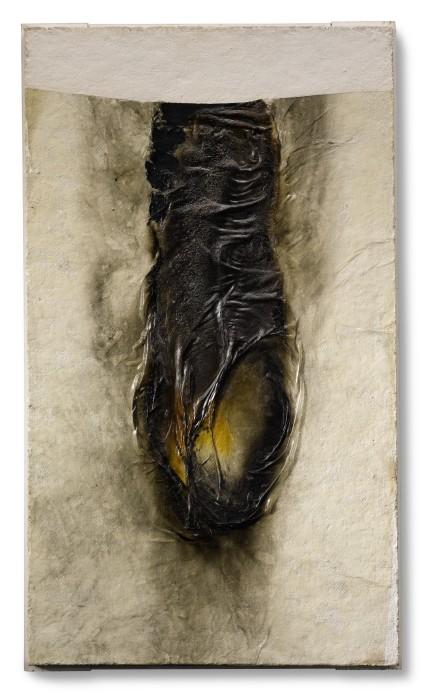Alberto Burri, Combustione, 1968