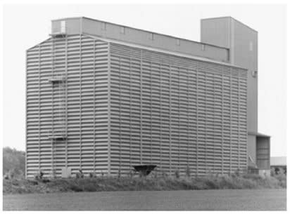 Bernd & Hilla Becher, Grain Elevator, Bertreville / Dieppe F, 2006