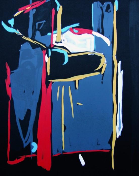William Bradley, Leap In The Dark, 2015
