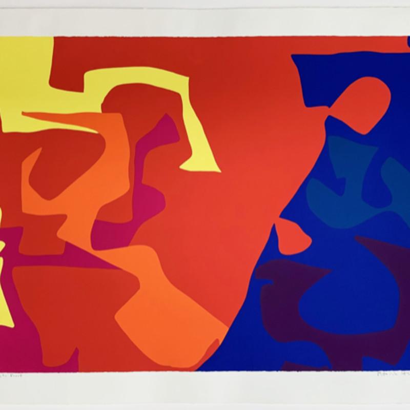 Patrick Heron, January 1973 : Plate 5, 1973