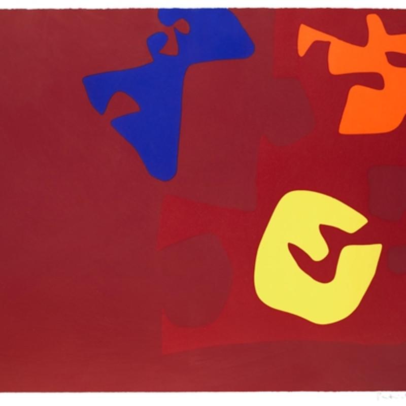 Patrick Heron, Untitled - Rothko Memorial Portfolio, 1972