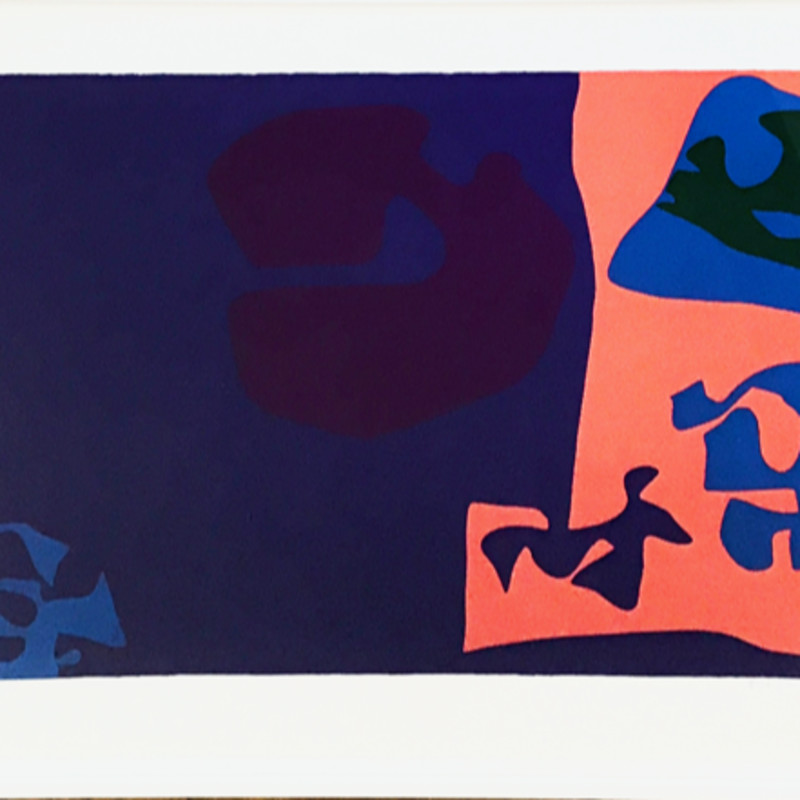 Patrick Heron, January 1973 : Plate 18, 1973