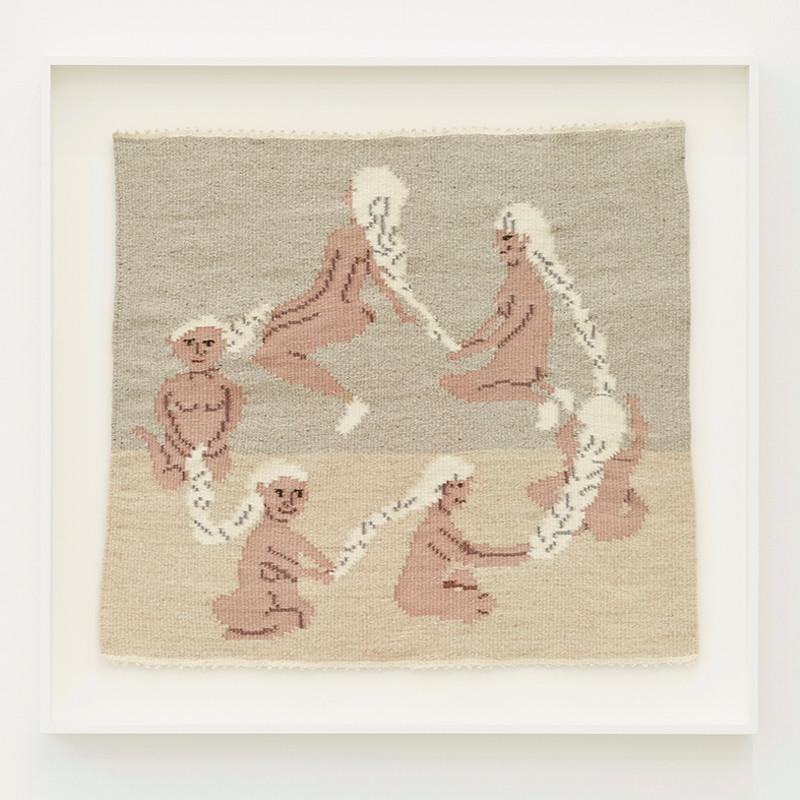 ARNA ÓTTARSDÓTTIR - Circle of Life (Six Ladies Braiding Each Others Hair), 2011