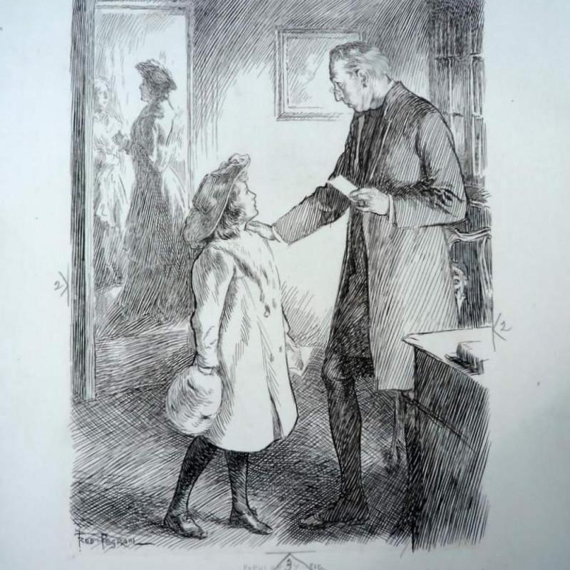 Fred Pegrail, Punch - original cartoon