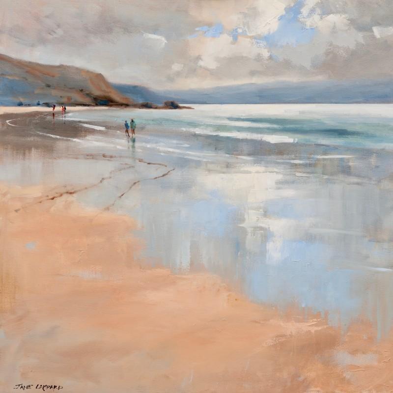 Jane Lampard - Cloud reflections Polzeath