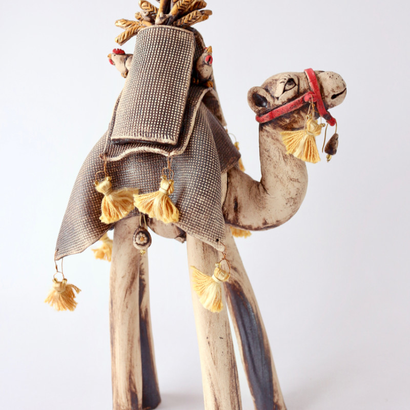 Lesley Anne Greene - The Last Straw - camel with sacks