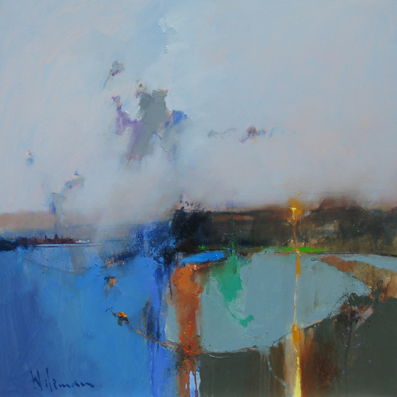 Peter Wileman FROI FRSA RSMA - Winter's gold