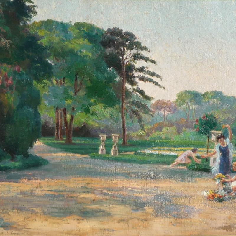 Suzanne Daynes Grassot - Tuileries Gardens
