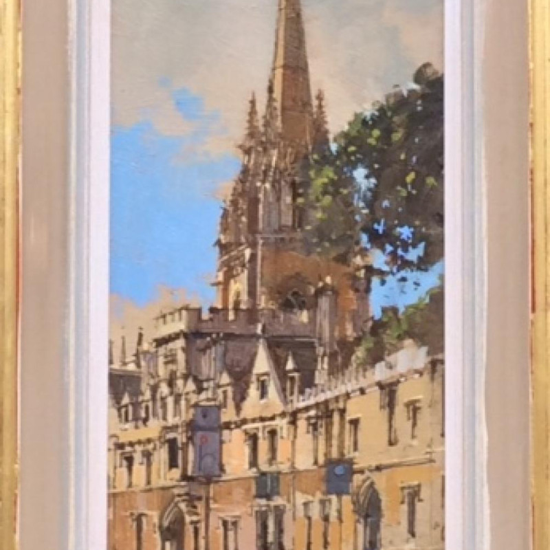 David Sawyer RBA, St Mary the Virgin, Oxford