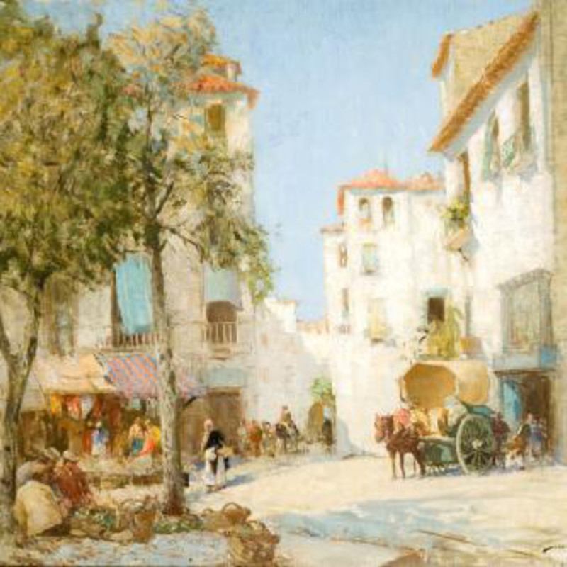 William Lee Hankey RWS RI ROI RE - Souvenir of Madrid