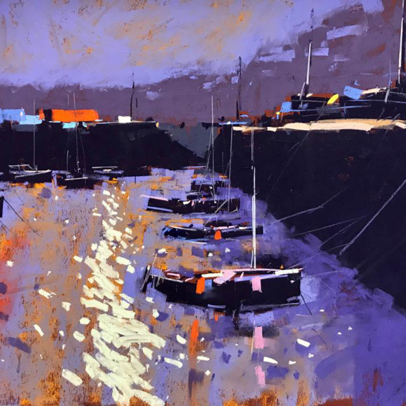 Tony Allain PS, PSA, MPANZ - Old harbour light, Guernsey