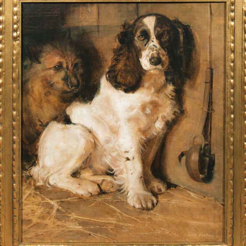 Samuel Fulton, The Sportsman's Dogs: A Spaniel and a Terrier