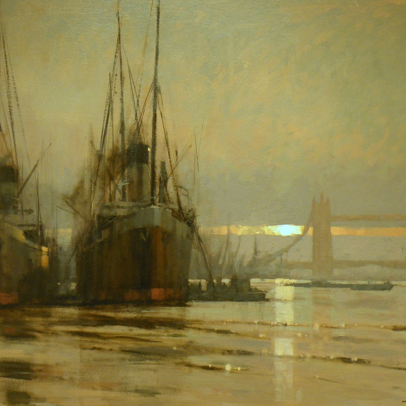 Tony Williams ARSMA SWAc - The ghosts at Tower Bridge
