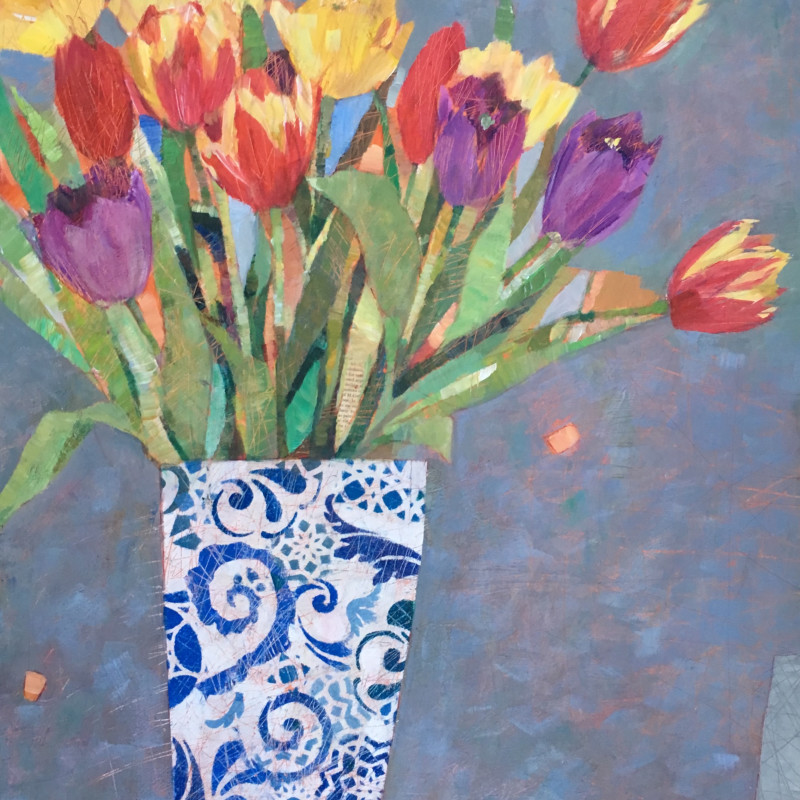 Sally Anne Fitter - Spring Tulips