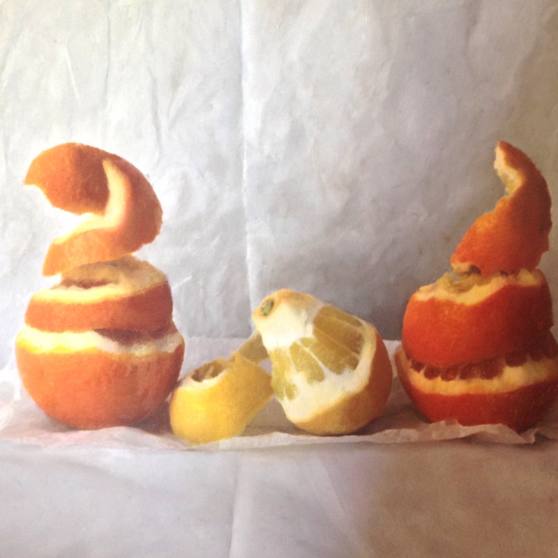 Kate Verrion - Seville oranges and Andalucian lemon I