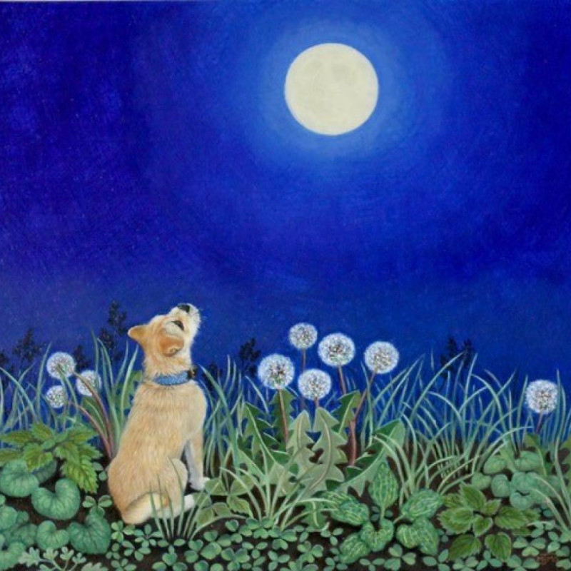 Marcelle Milo Gray - The moon & Fosse