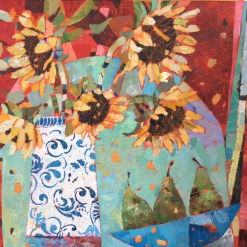 Sally Anne Fitter - Sunflowers