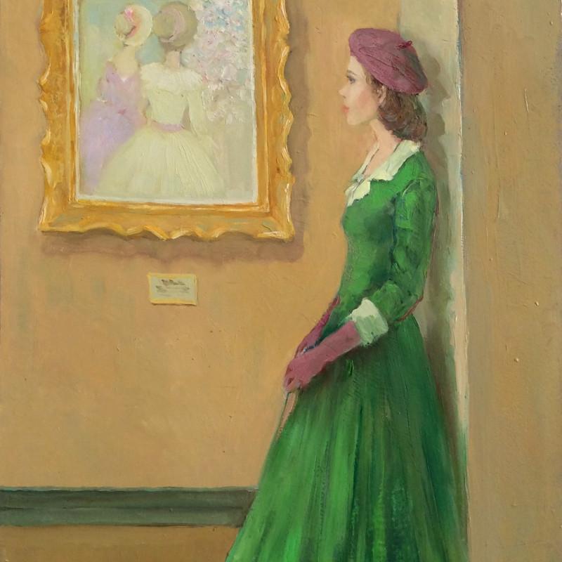 Katya Gridneva - At the gallery