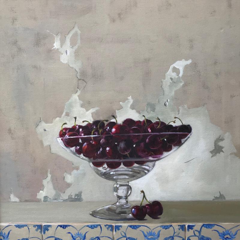 Penny German ARBSA - Cherries on tiles