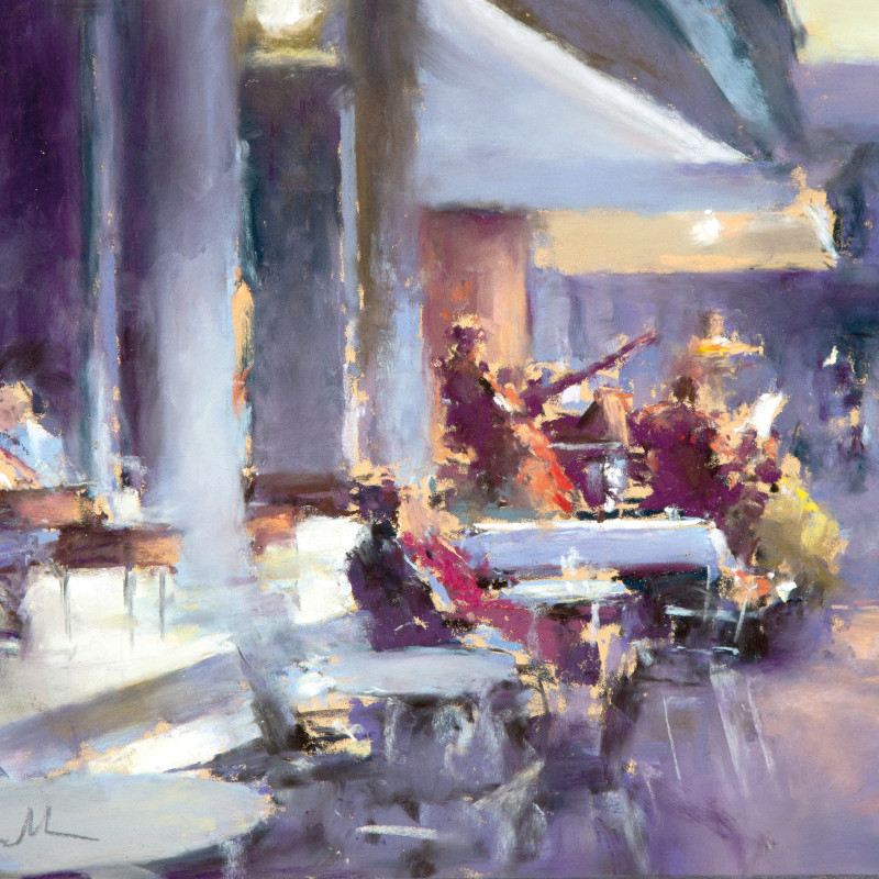 Bob Richardson PS - Musical evening Cafe Florian