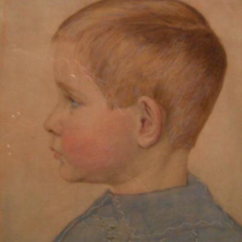 Henry A Payne - Portrait of Geoffrey the artist's son