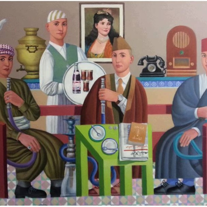 Faisel Laibi - The Coffee Shop, 2015