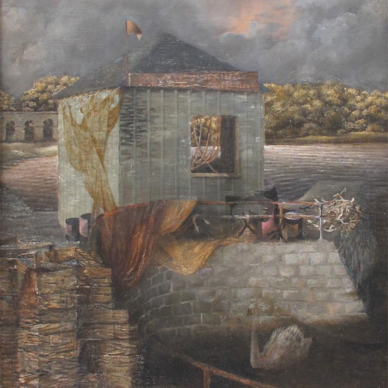 Prunella Clough - Inveraray Quay