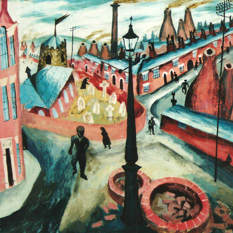 Julian Trevelyan - The Potteries