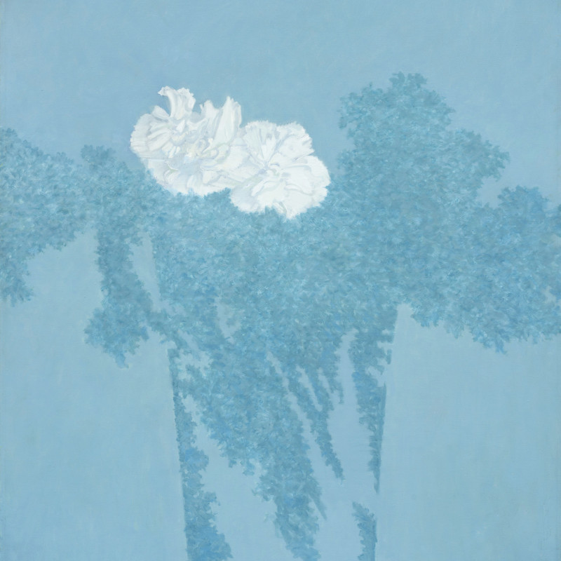 Edward Middleditch - Composition in Blue