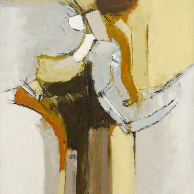 Adrian Heath - Painting Orange and Ochre