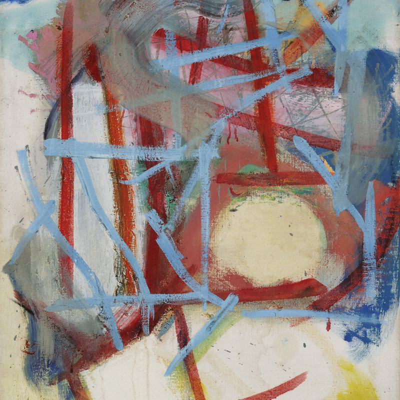 Gary Wragg - Blue Red Structure