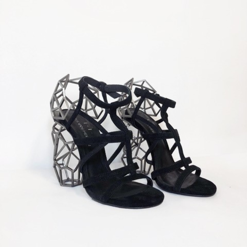 Iris van Herpen, Aeriform Shoes l, 2017