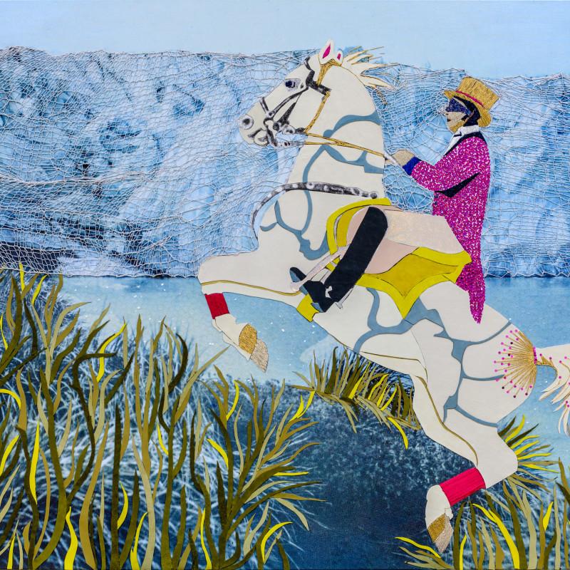 Preta Wolzak, Arctic Charade - White Zorro , 2017