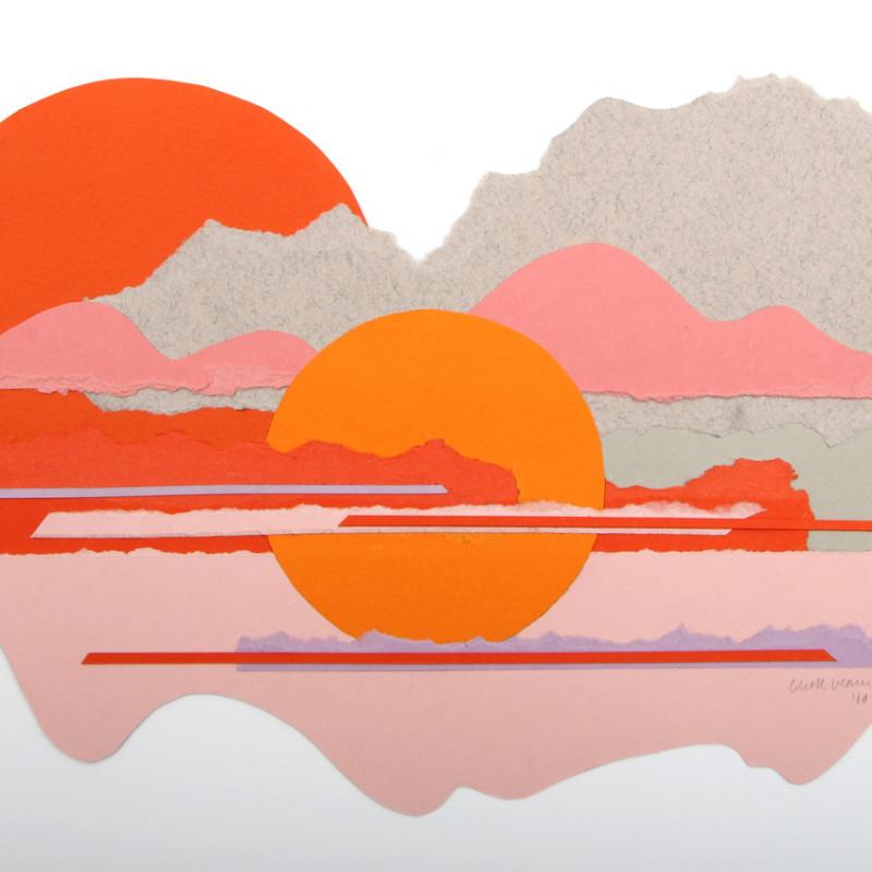 Colette Vermeulen, Orange Moonrise, 2018