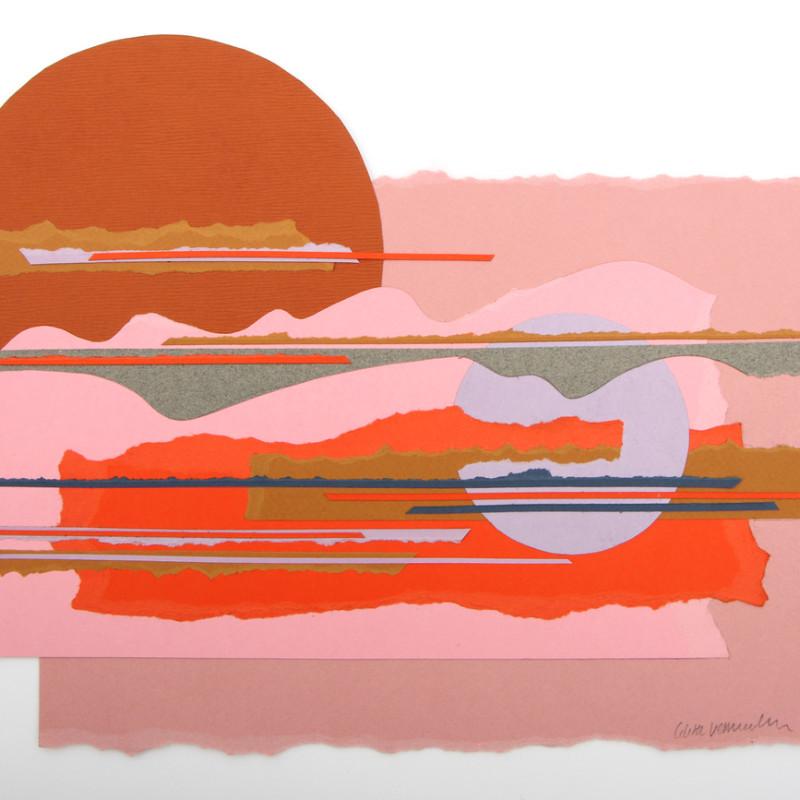 Colette Vermeulen, Desert Sunset, 2018