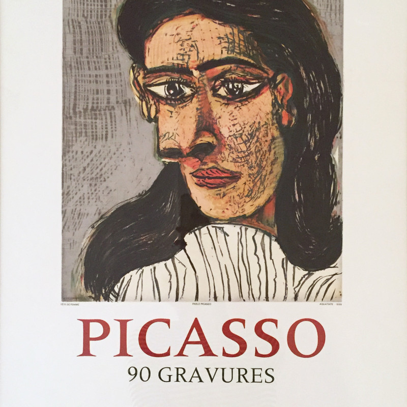 Pablo Picasso - Head of a Woman, 1971