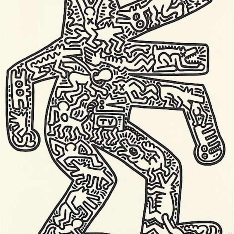 Keith Haring, Dog, 1986