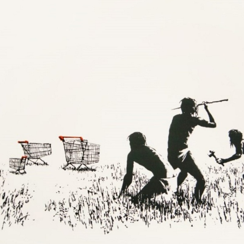 Banksy, Trolley Hunters
