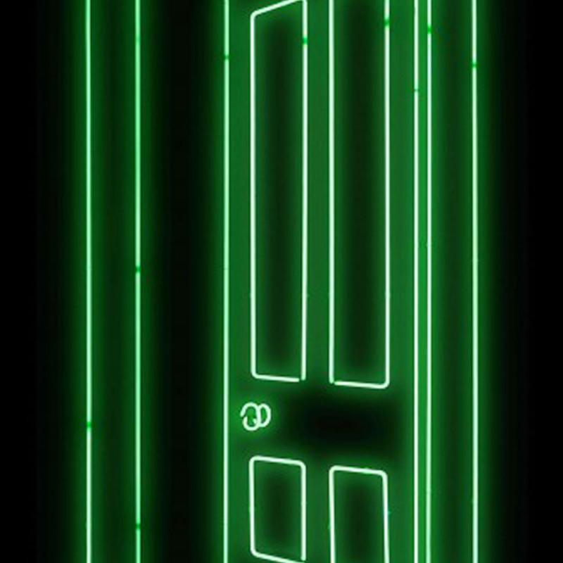 Gavin Turk, Door (Green)