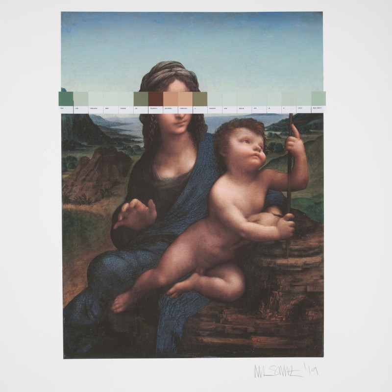 Nick Smith, Da Vinci - Madonna and the Yarnwinder (Strip), 2019