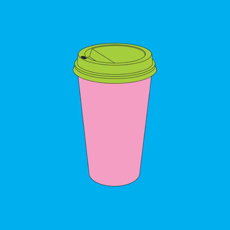 Michael Craig-Martin, Framed Takeaway Coffee