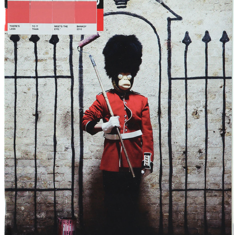 Nick Smith, Banksy, Time Out, 2011
