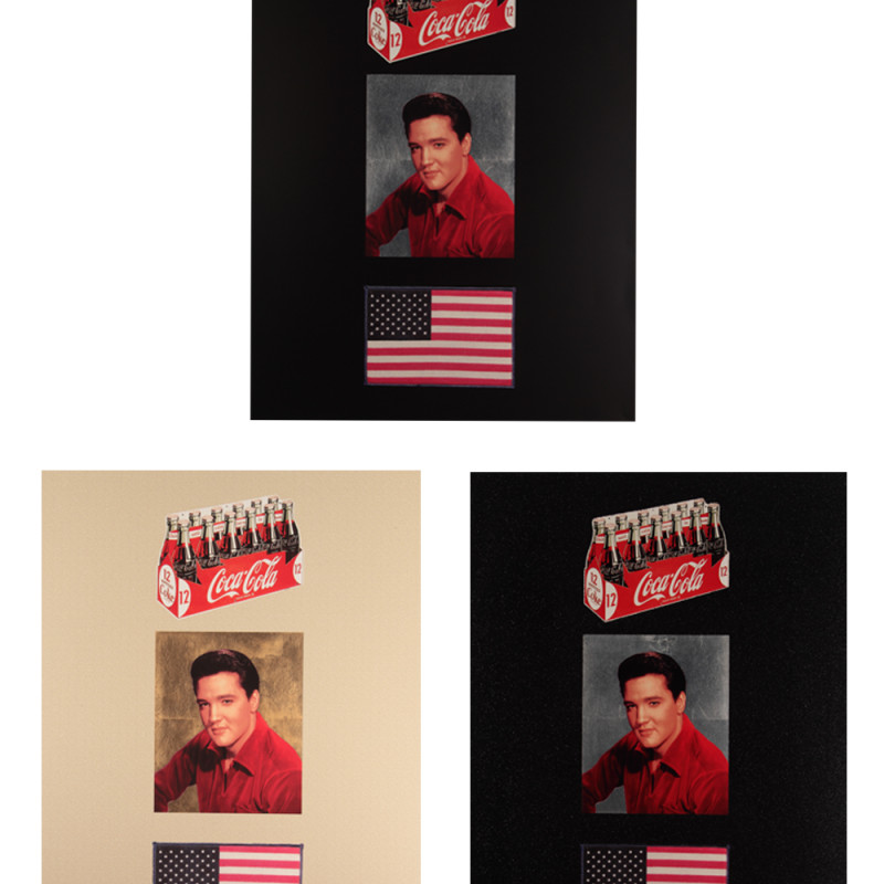 Peter Blake, American Trilogy 2012 - Set of 3 prints