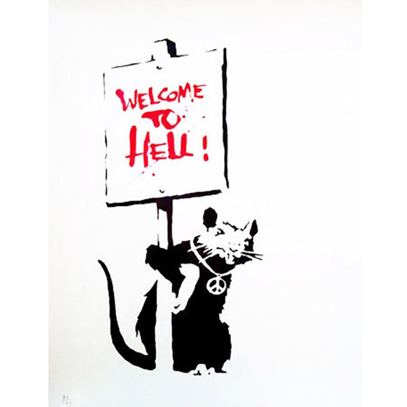 Banksy, Welcome to Hell