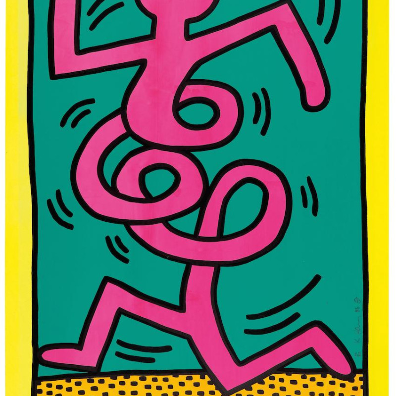 Keith Haring, Montreux Jazz Festival (Limited Edition), 1983