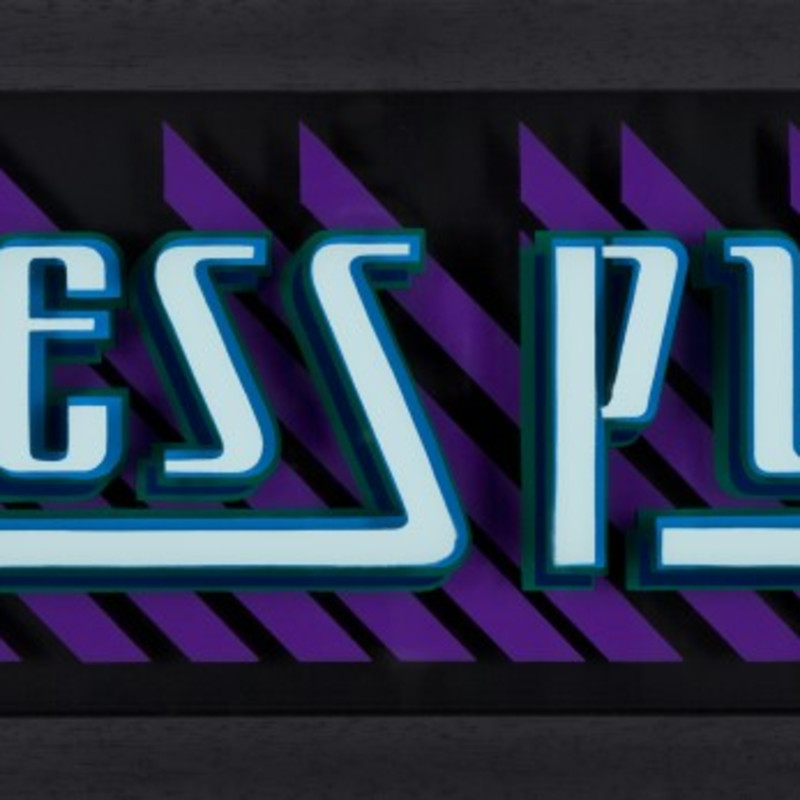 Static, Press Play - Blue & Purple